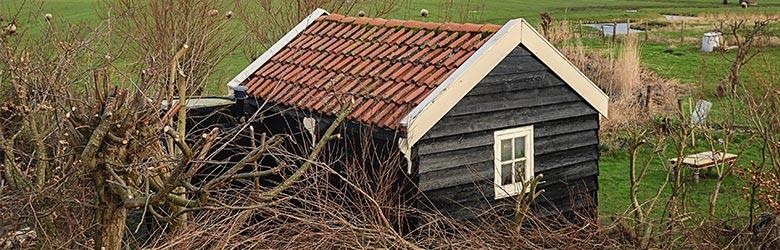 houten schuur isolatie