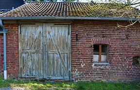 houten schuur isoleren
